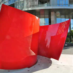 The Story of Approaching Red, Bold New Art at Concord CityPlace