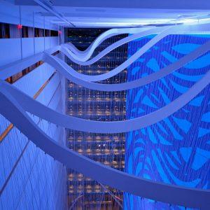 Conrad Hotel Veil Sculpture