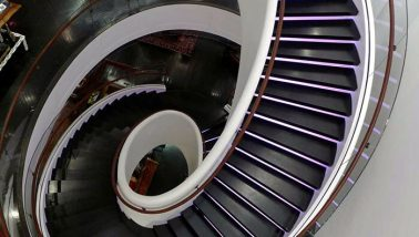Tommy Hilfiger Architectural Stairs