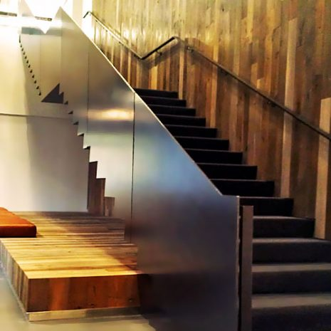 Young & Rubicam Stairs