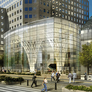 Brookfield's Heart of Glass: Developer Fetes New Glass Pavilion at World Financial Center
