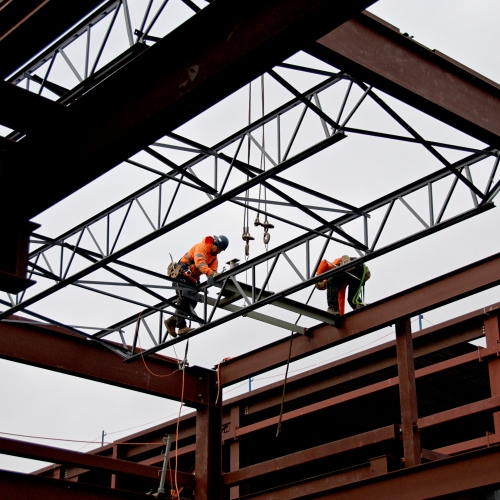 Steel a major part of new OLRT maintenance facility
