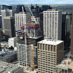Construction at Calgary's Brookfield Place accelerating rapidly