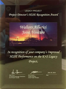 K+S Legacy Project Safety Recognition