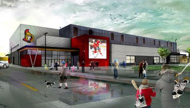 Belleville Yardmen Arena Renovations