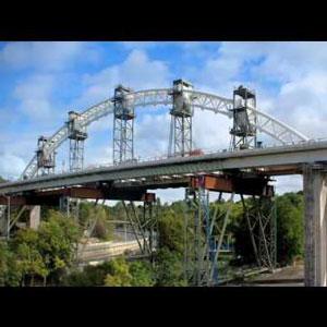 Burgoyne Bridge Crosses the Finish Line