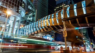 Toronto Eaton Centre Pedestrian Bridge