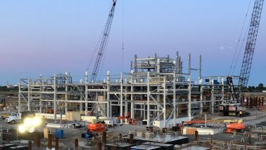 Nova Chemicals AST2 Area 300 Polyethylene Processing Plant