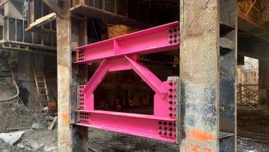 Crosslinx pink steel